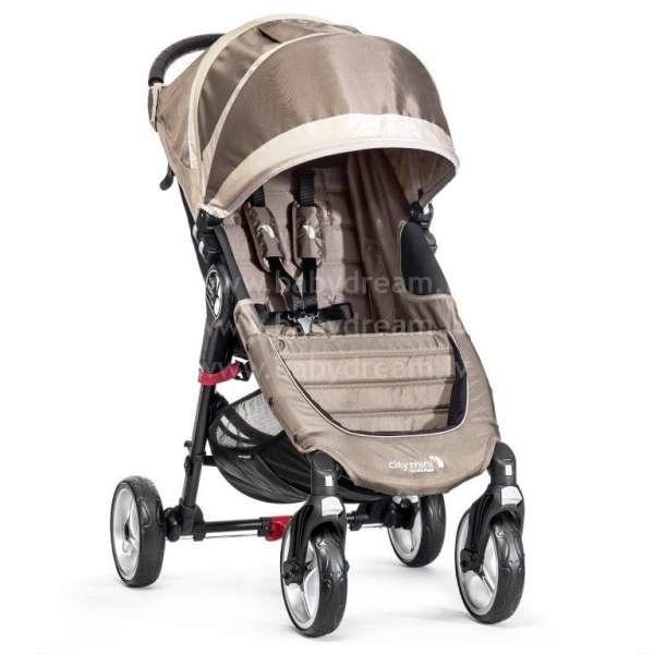 Baby Jogger City mini 4W Sand/Stone Bērnu sporta rati