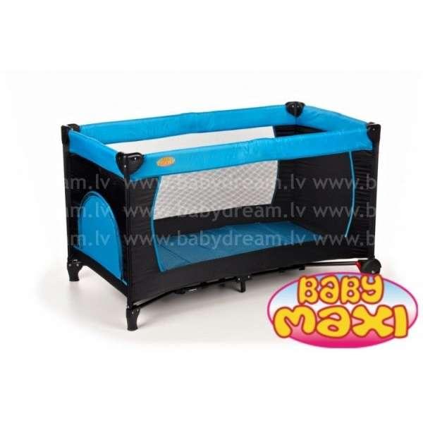 Baby Maxi Basic M2 Blue Ceļojumu gulta