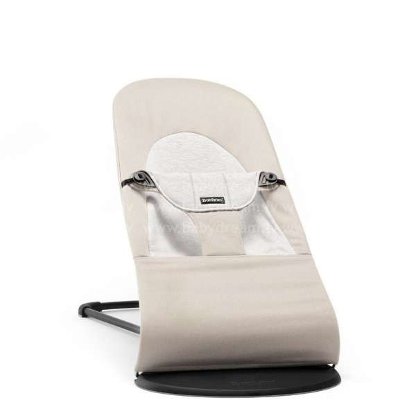 BabyBjorn Balance Soft Bērnu šūpuļkrēsls, Beige, Cotton/Jersey