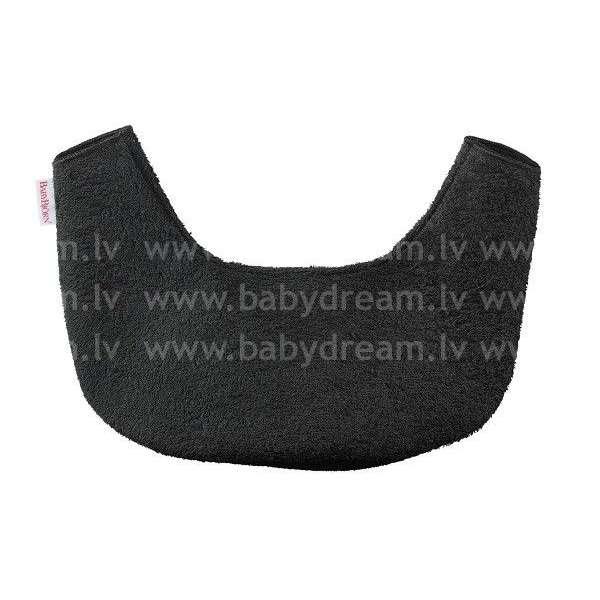 BabyBjorn Bib for Baby Carrier One Priekšautiņš ķengursomai One, Black