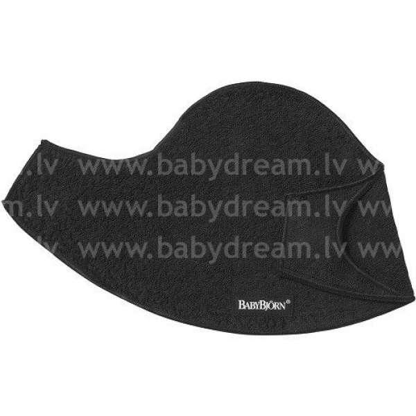 BabyBjorn Priekšautiņš ķengursomai Bib for Baby Carrier, 2-pack, Black