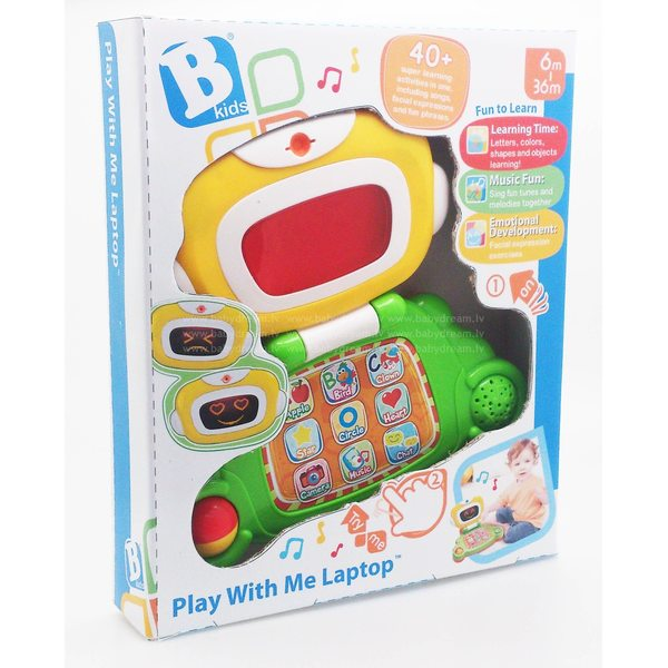 BKids Muzikāla rotaļlieta Dators, krievu val., 004625