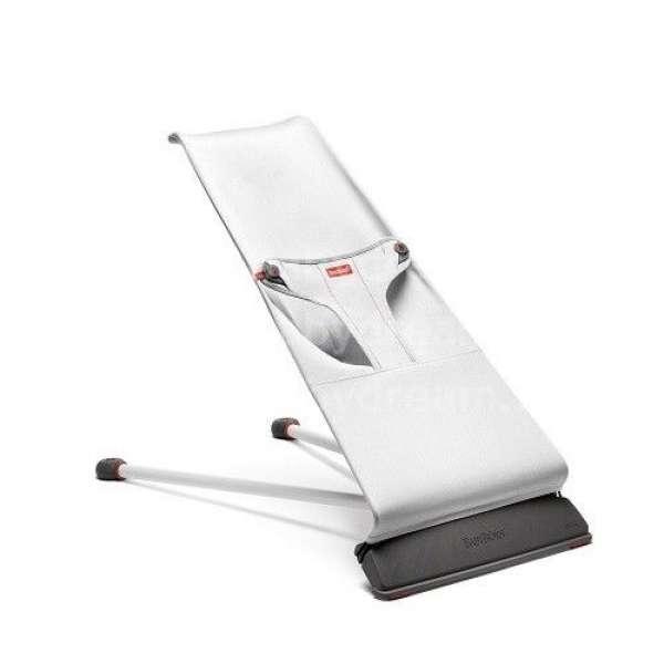 BabyBjorn Bērnu šūpuļkrēsls Bouncer Mini, Cotton, Silver