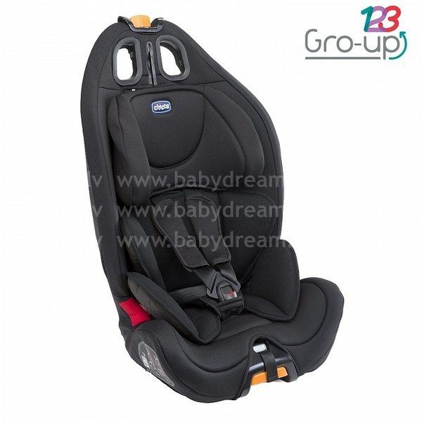 Chicco Gro-Up 123 Autokrēsls (9 - 36 kg), Black