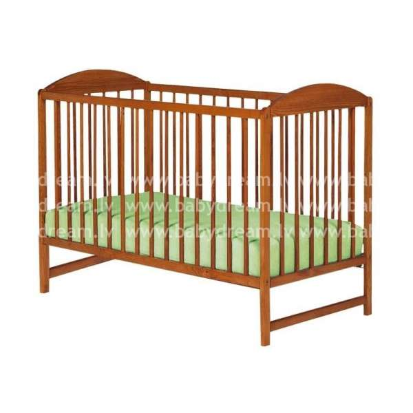 Drewex Bērnu gulta Kuba II, tīks ar nolaižamo sānu