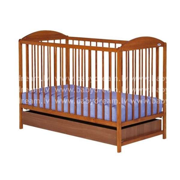 Drewex Bērnu gulta Kuba II, tīks ar kasti