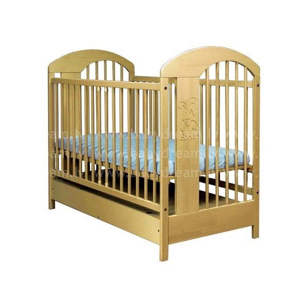 Drewex Slawek Bērnu gulta, priede, ar kasti