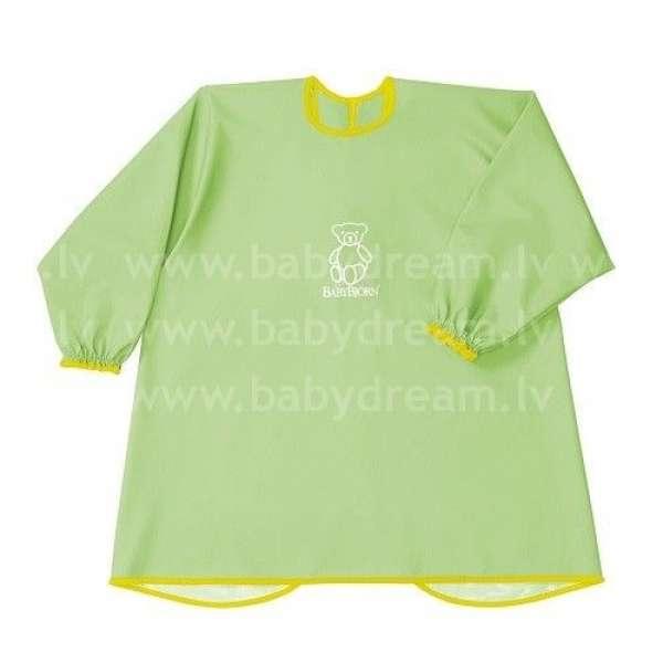 BabyBjorn Krekliņš ēšanai un spēlēšanai Eat and Play Smock Green