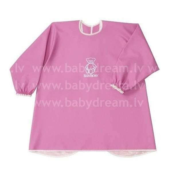 BabyBjorn Krekliņš ēšanai un spēlēšanai Eat and Play Smock Pink