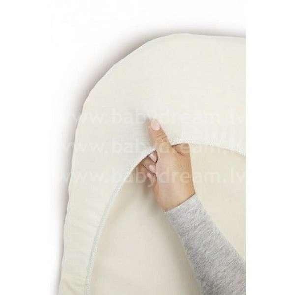BabyBjorn Pārklājs šūpulītim Cradle, Organic, Natural white