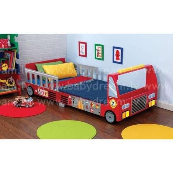 Kidkraft Fire Truck Toddler Cot- Bērnu gulta, 76031