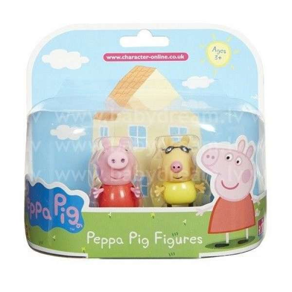 Peppa Pig Figūras - Peppa pig and Pedro 7 cm, 04430