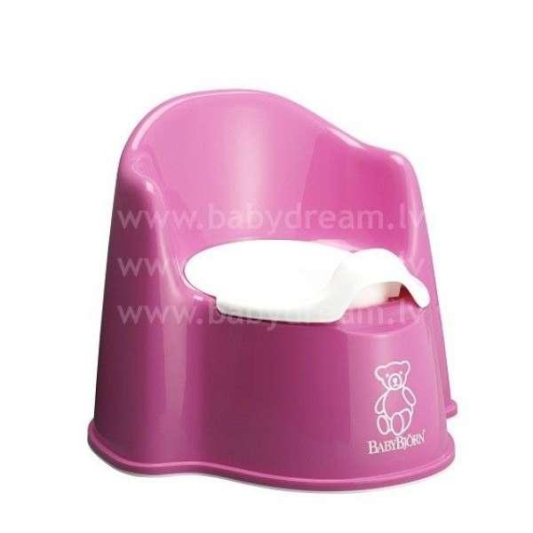 BabyBjorn Potty Chair Bērnu podiņš Pink