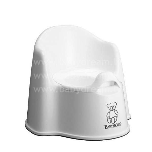 BabyBjorn Potty Chair Bērnu podiņš White