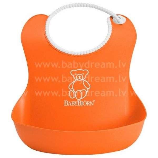 BabyBjorn Mīksts priekšautiņš Soft Bib Orange