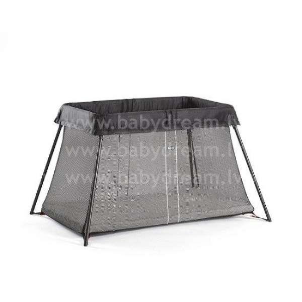 BabyBjorn Ceļojumu gulta un manēža Travel Cot Light Black