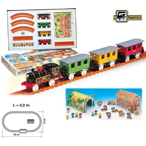 Pequetren Train of The Children Dzelzceļa komplekts, 2001