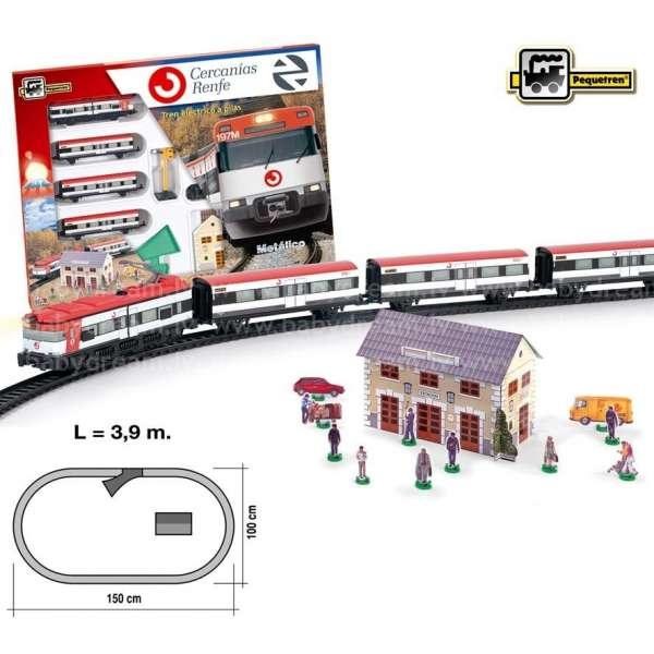Pequetren Train of Cercanías RENFE Dzelzceļa komplekts, 675
