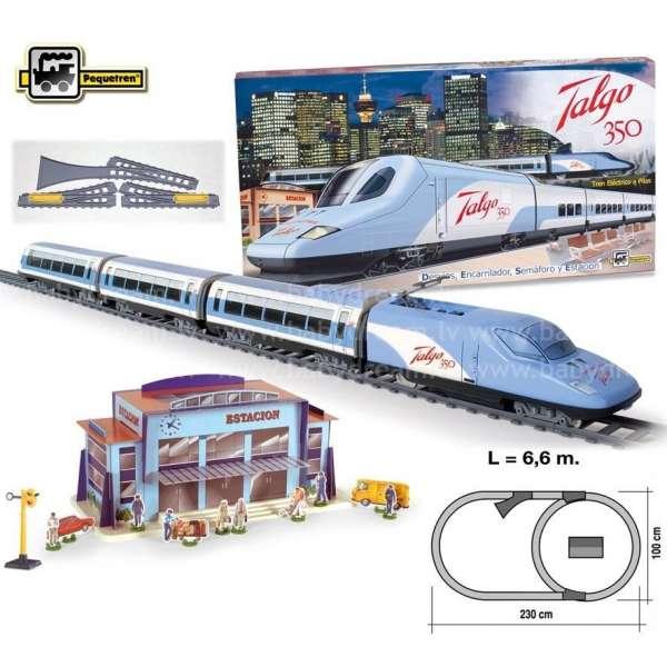 Pequetren TALGO 350 Dzelzceļa komplekts, 730