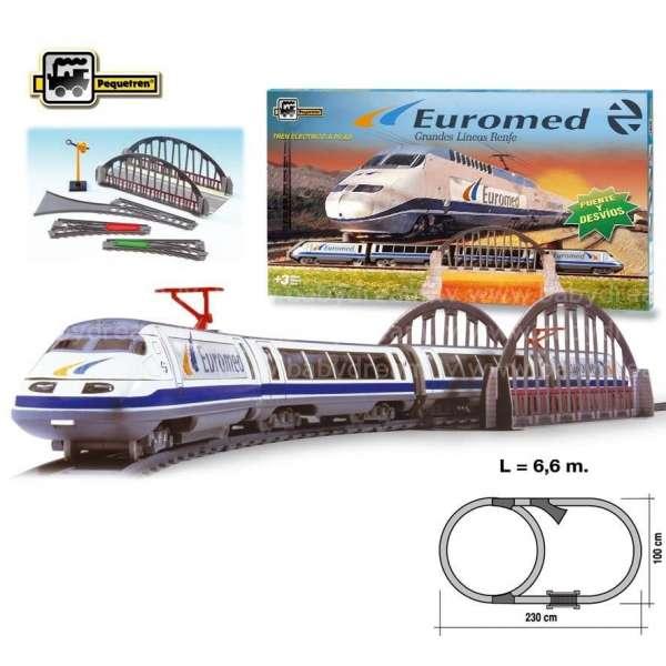 Pequetren Euromed RENFE Dzelzceļa komplekts, 780
