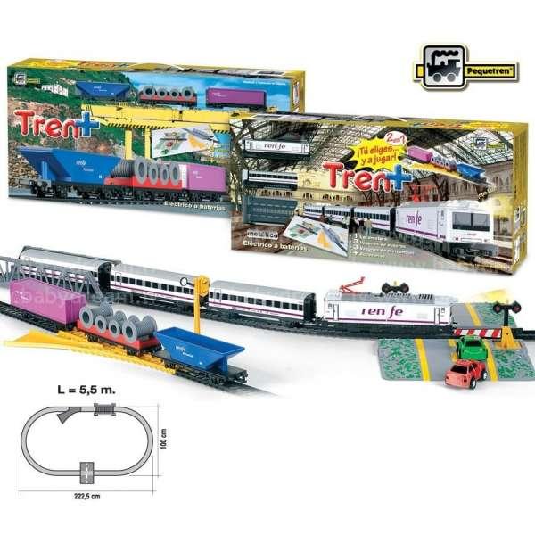 Pequetren Train + RENFE Passengers / Merchandises Dzelzceļa komplekts, 905