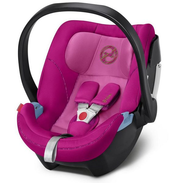 Cybex Aton 5 Fancy Pink Bērnu autosēdeklītis 0-13 kg