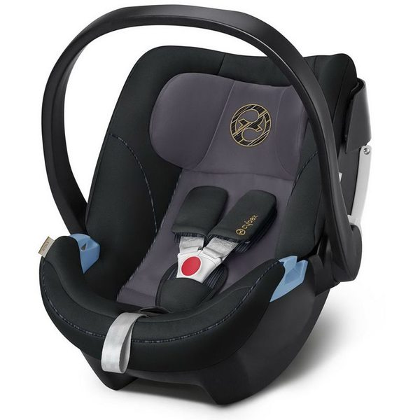 Cybex Aton 5 Premium Black Bērnu autosēdeklītis 0-13 kg