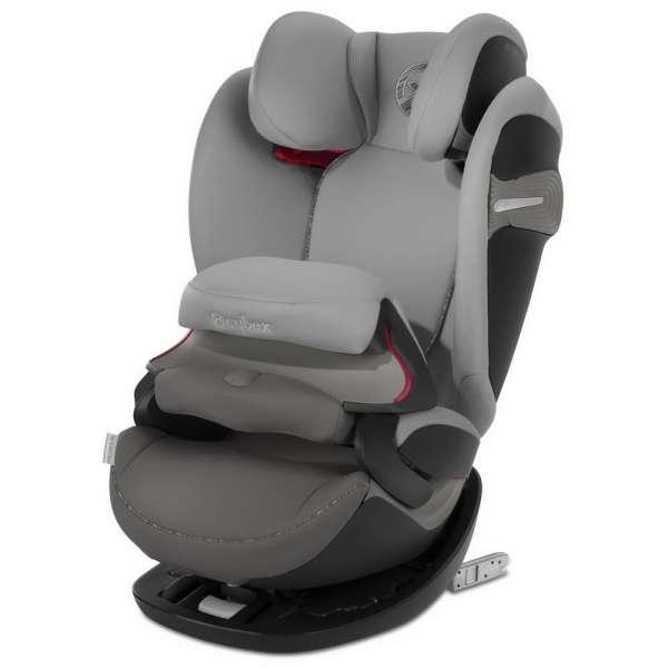 Cybex Pallas S-Fix Manhattan grey Bērnu autokrēsls 9-36kg