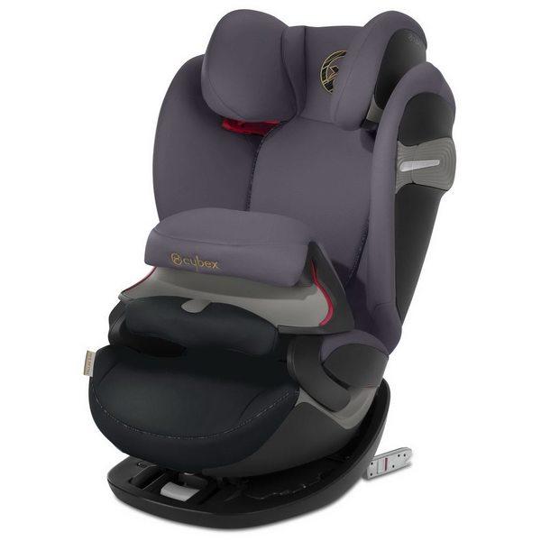 Cybex Pallas S-Fix Premium black Bērnu autokrēsls 9-36kg