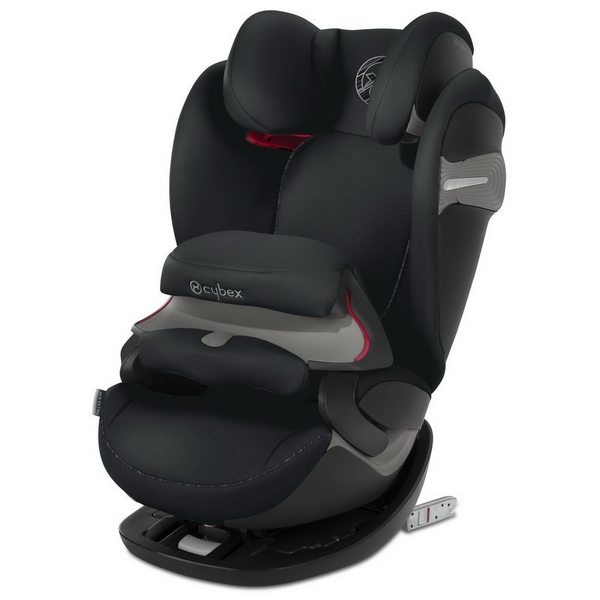 Cybex Pallas S-Fix Urban black Bērnu autokrēsls 9-36kg