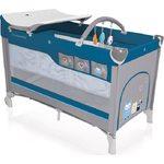 Baby Design Dream 03 Blue Ceļojumu gultiņa