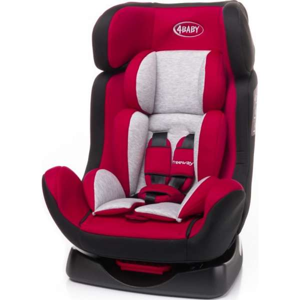 4Baby Freeway Red Bērnu autokrēsls 0-25 kg