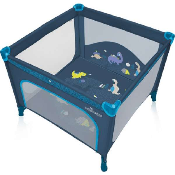 Baby Design Joy 03 Blue Saliekamā manēža