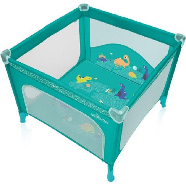 Baby Design Joy 05 Tourquoise Saliekamā manēža