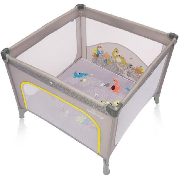 Baby Design Joy 07 Gray Saliekamā manēža