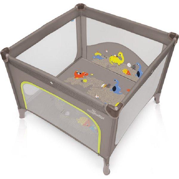 Baby Design Joy 09 Beige Saliekamā manēža