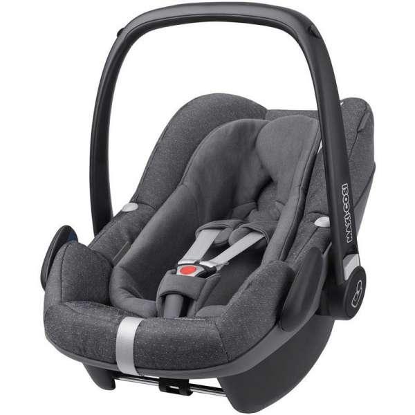 Maxi Cosi Pebble Plus Sparkling grey Bērnu autosēdeklītis (0-13 kg)
