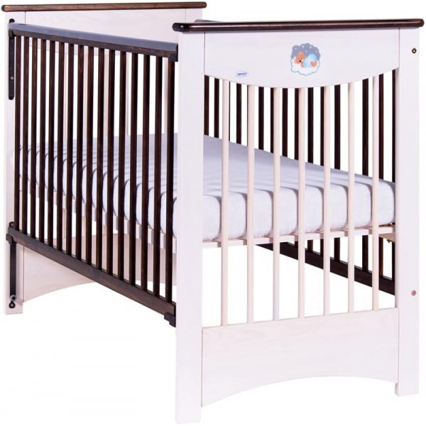 Drewex Mocca Bērnu gulta, ar nolaižamu sānu