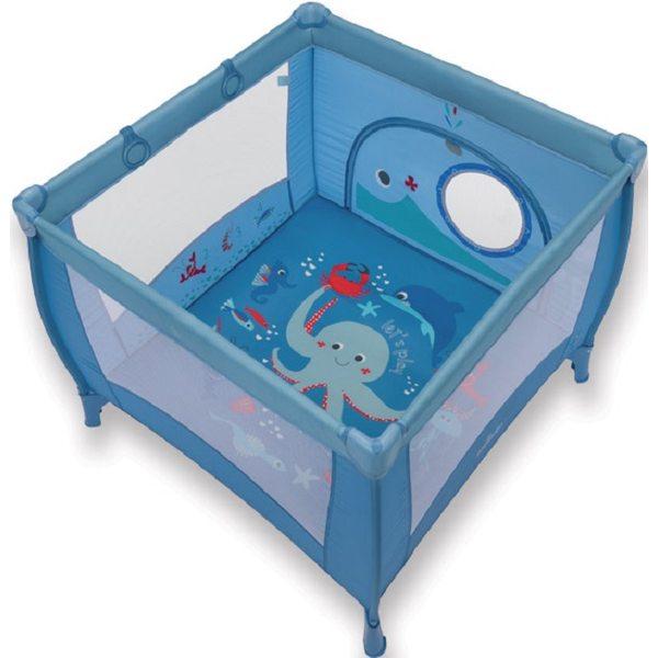 Baby Design Play Up 03 Blue Saliekamā manēža