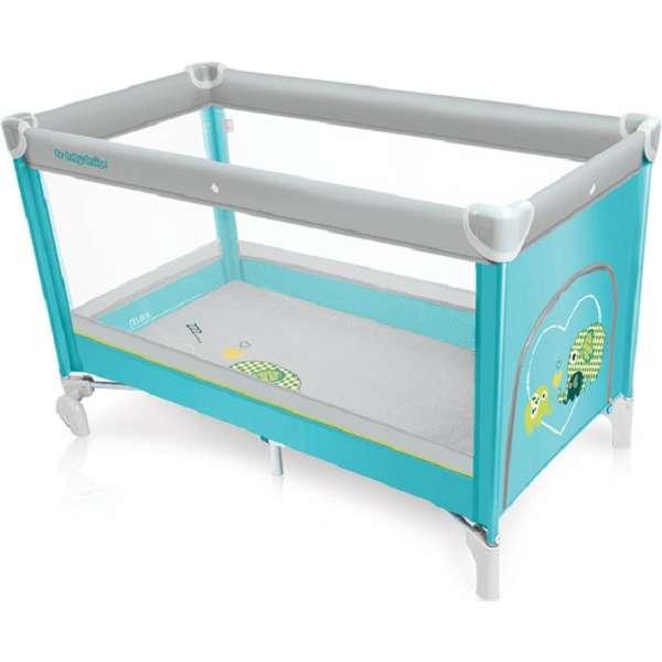 Baby Design Simple 05 Tourquoise Ceļojumu gultiņa