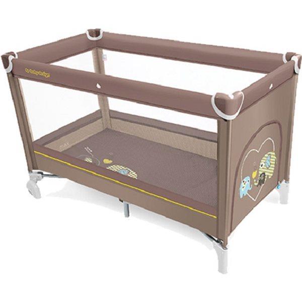 Baby Design Simple 09 Beige Ceļojumu gultiņa